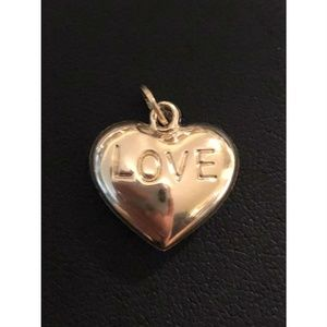 HarlemBling 14k Solid Yellow Gold Heart Pendant